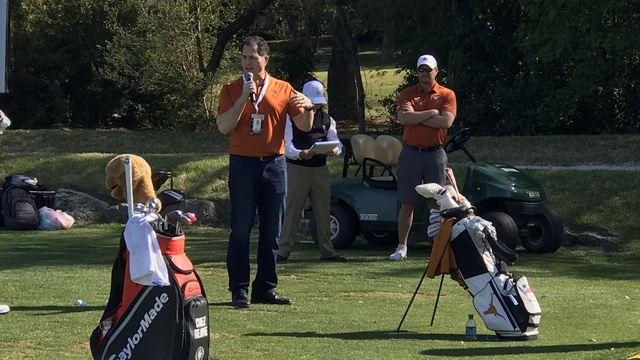 Michael Dell with Tom Herman golf clinic