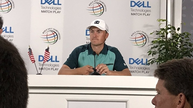spieth press conference tuesday