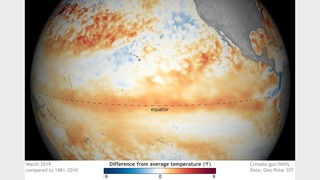 El Niño continues, may last through the summer