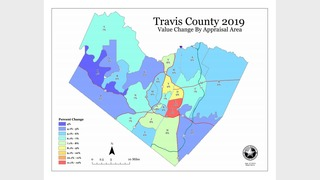 Travis County Value Map