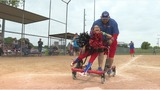 Softball player with cerebral palsy epitomizes love of the game