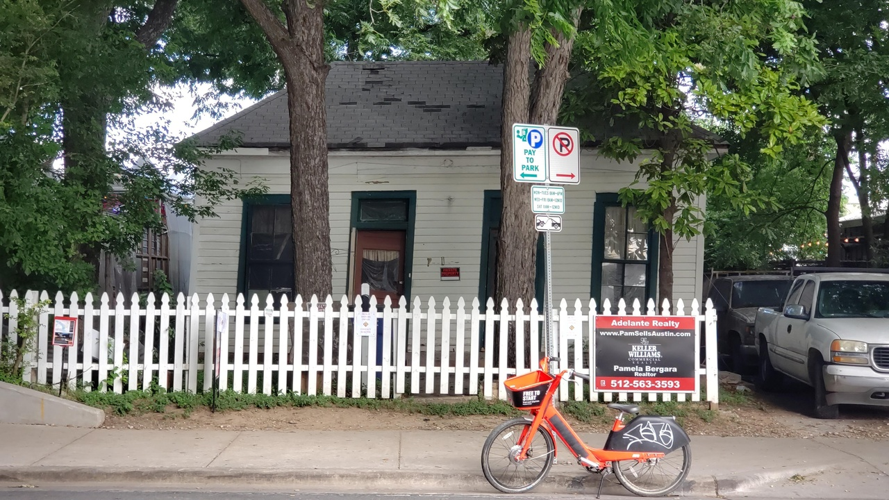 Last Residential Home On Rainey Street Up For Sale
