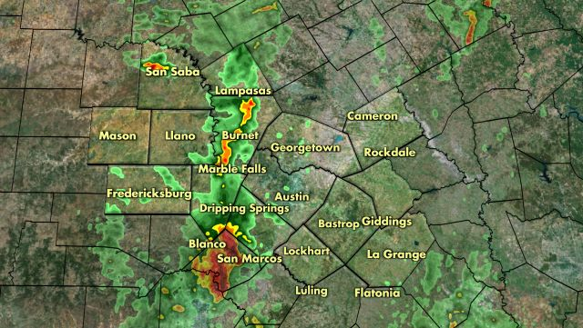 Austin & Central Texas Local Radar | KXAN com