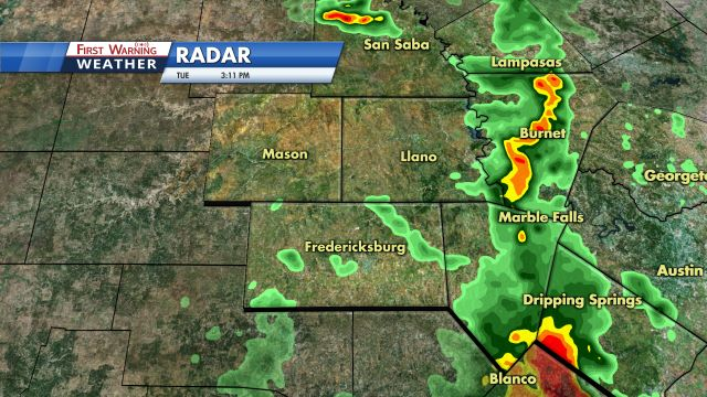 Austin & Central Texas Local Radar | KXAN